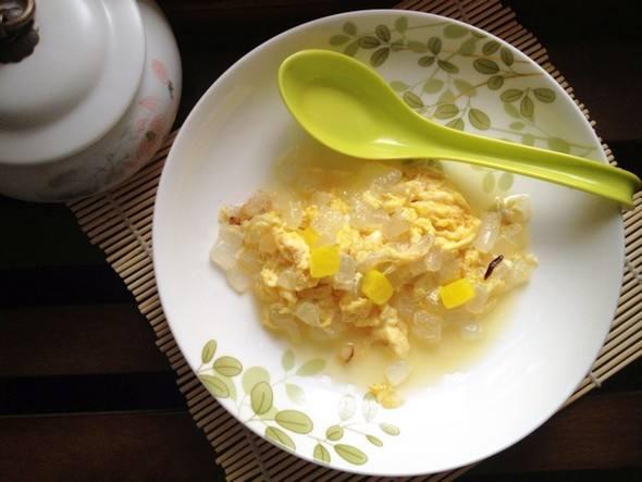 芦荟鸡蛋治咳喘